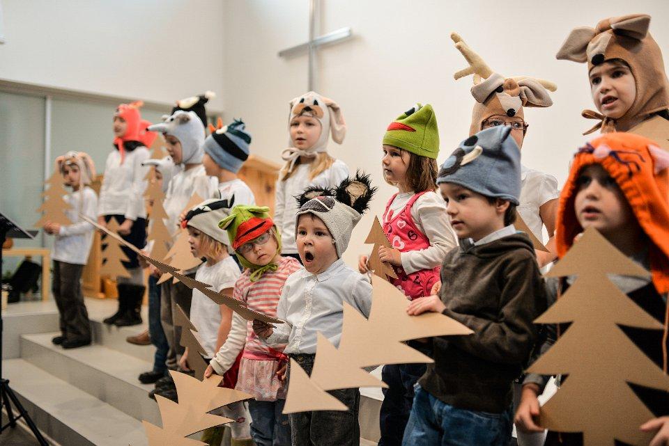 Vánoční vystoupení nejmenších dětí